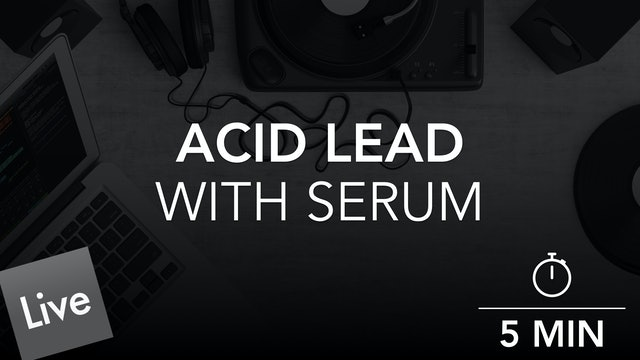 Arranging an Acid Lead Part in Live 10