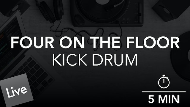 Arranging a Four on the Floor Kick Pattern in Live 10