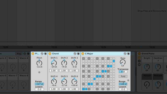 Single Note Chord Progressions