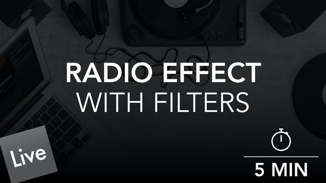 Radio Effect Filter Automation