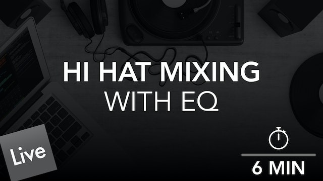 Designate the hi hat Frequency Range with FabFilter Pro-Q 3