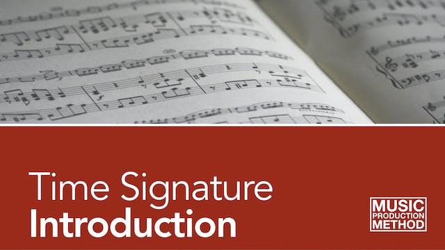 1-2. Time Signature
