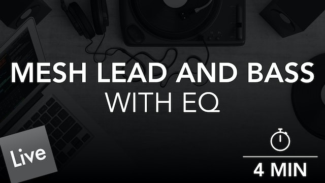 Mesh the lead and bass with FabFilter Pro-Q 3
