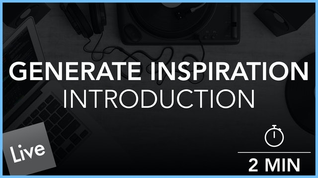 Generating Inspiration - Introduction