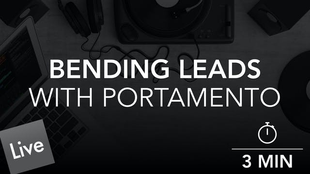 Clean Up the Lead with Portamento Aut...