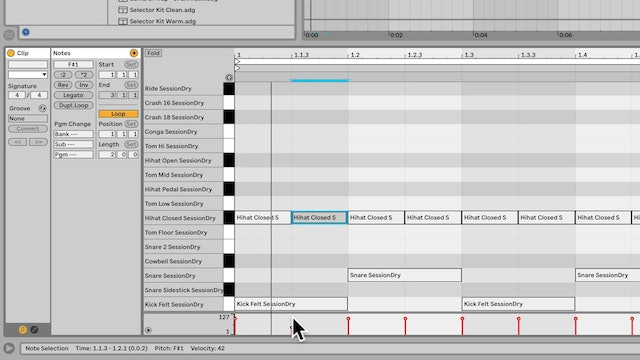 2-1. Introduction to the Live 10 MIDI Editor