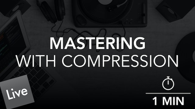 Maintain consistent level with Glue Compressor in Live 10