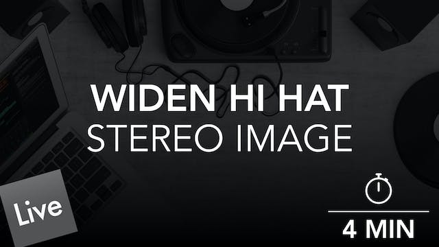 Widen the stereo image of the Closed ...