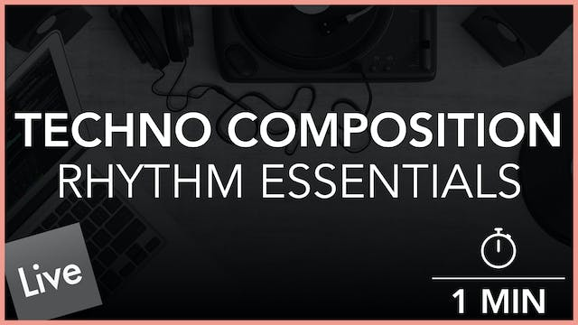 Techno Rhythm Essentials - Introduction