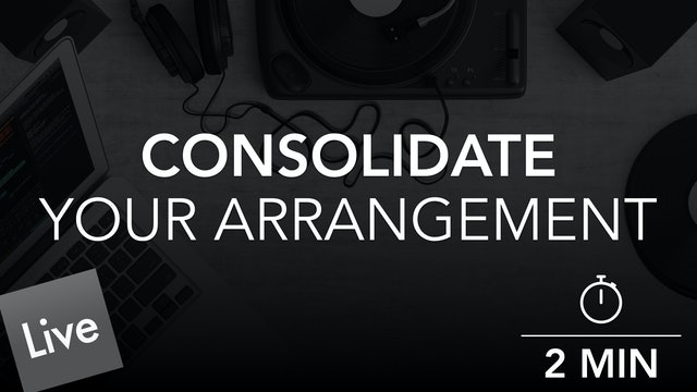 Finalize Your Arrangement With Consolidation
