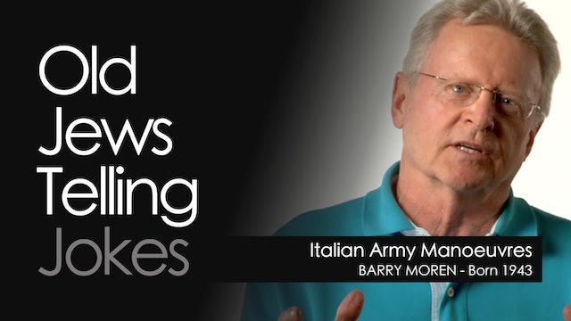 OJTJ - Barry Moren - Italian Army Manoeuvres