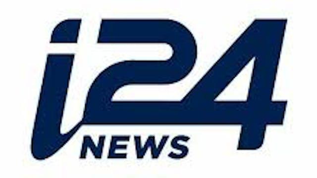 i24 NEWS on JEWZY Cinema & .TV