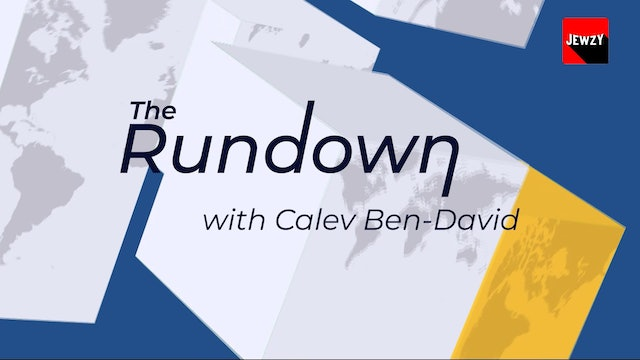 i24 NEWS: THE RUNDOWN – 30 APR 2021