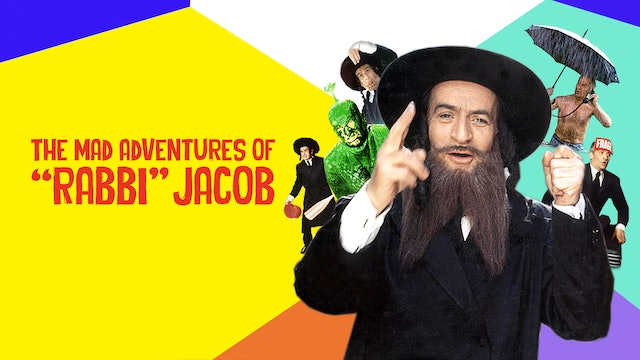 "THE MAD ADVENTURES OF ""RABBI"" JACOB - Feature Film"