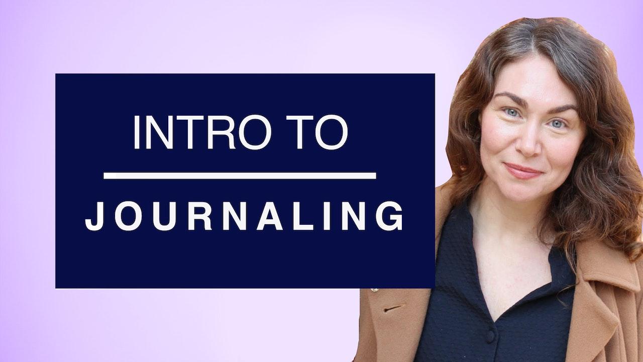 Intro to Journaling