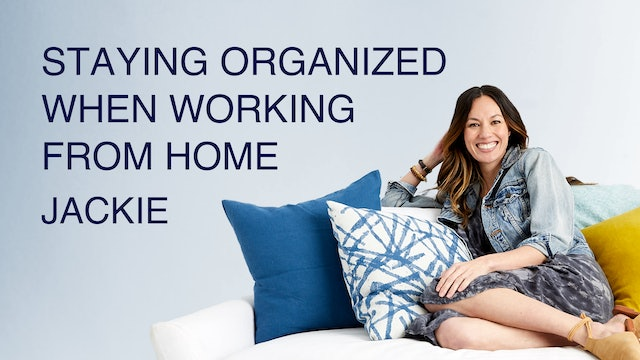 Staying Organized When Working from Home