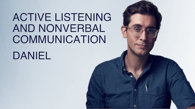 Active Listening and Nonverbal Commun...