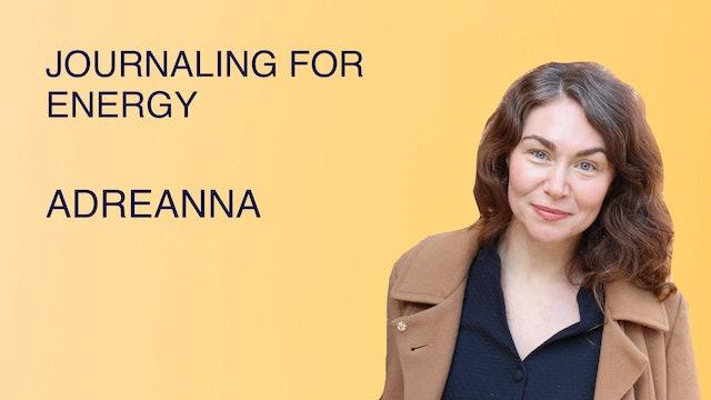 Journaling For Energy