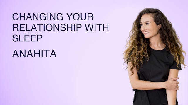 Changing Your Relationship with Sleep