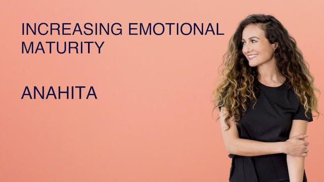 Increasing Emotional Maturity