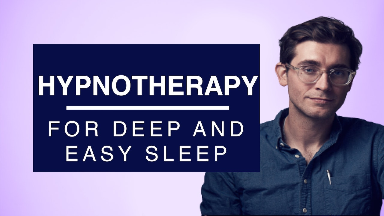 Hypnotherapy for Deep and Easy Sleep