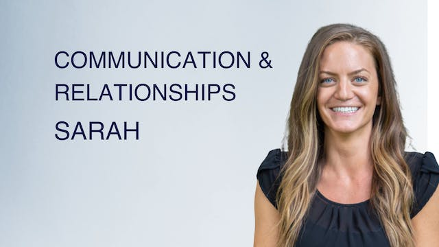 Communication & Relationships