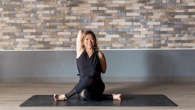 Yin Yoga with Lisa - Hip and Leg Focus