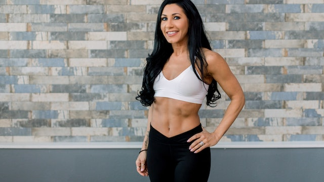 15 Minute Cardio Blast with Vanessa