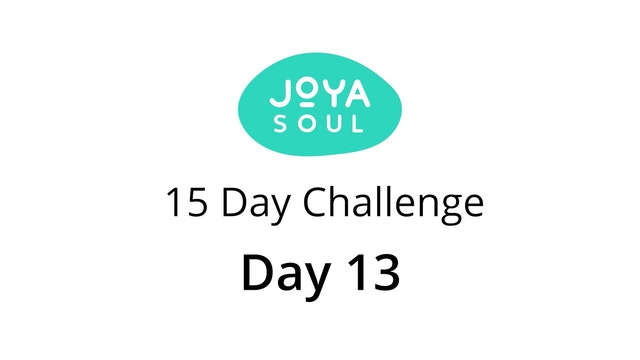 Day 13 of 15 Day October Fitness Challenge - Lower Body Burn