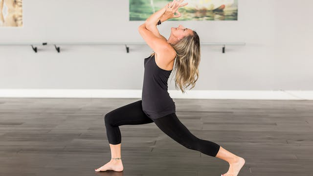 Vinyasa Flow with Jen F - Shoulder Focus