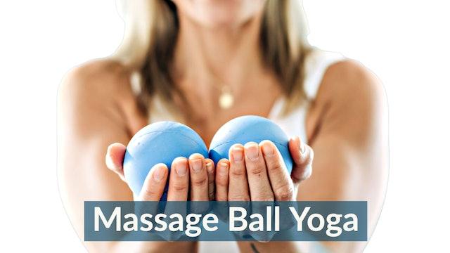 Massage Ball and Yoga