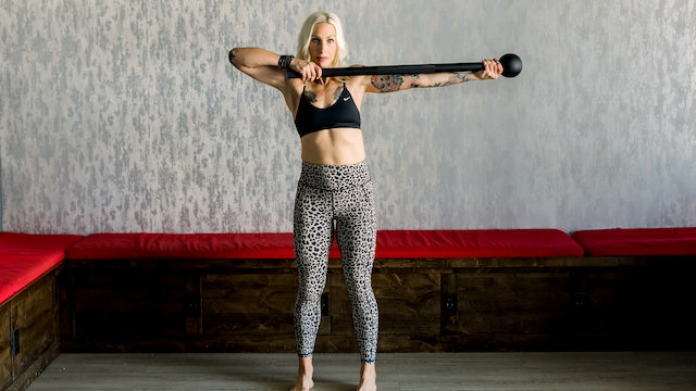 15 Minute Biceps and Triceps Workout with Katy