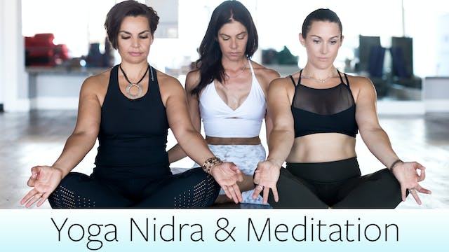 Yoga Nidra and Meditation