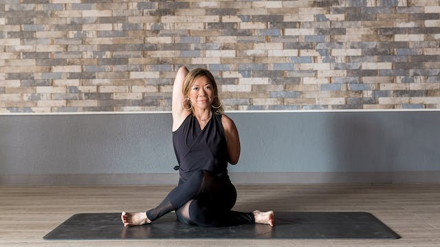 Yin Yoga with Lisa - Wall Assist