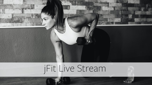 Wed 8/12 @ 10:15AM  PDT jFit with Katy - 45 Minutes