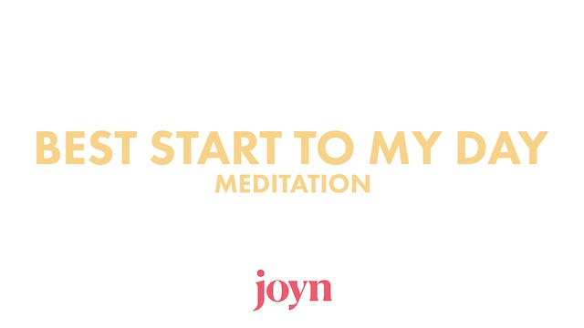 Today is MY DAY Meditation with Anna ...