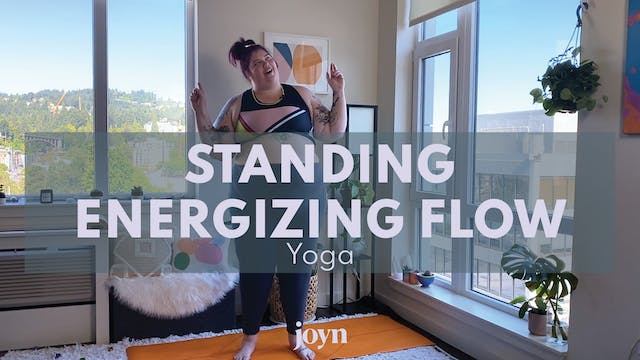 Standing Energizing Flow