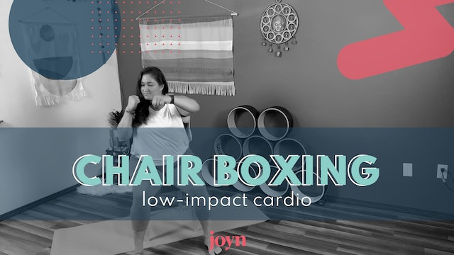 Chair Boxing For Limited Mobility