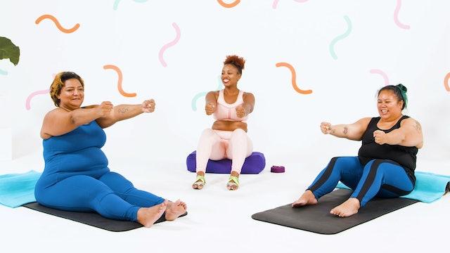 Restorative Pilates (13 mins)