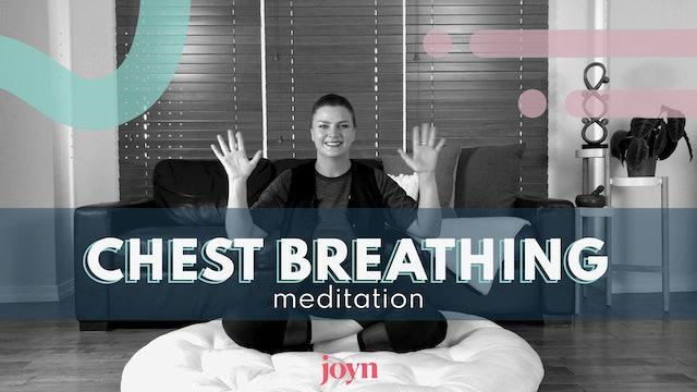 Chest Breathing