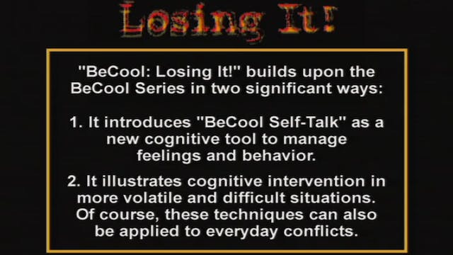BeCool LI - Mod 3 Failure/Frustration...