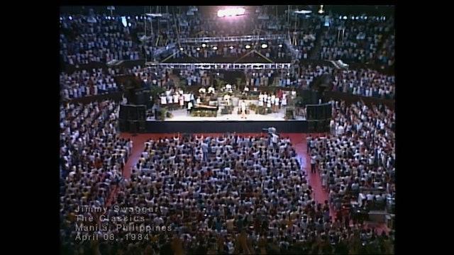 MANILLA PHILIPPINES - 04/8/1984 SUNDAY CRUSADE