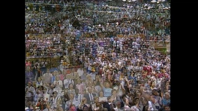 TAMPA FLORIDA - 02/23/1986 SUNDAY CRUSADE