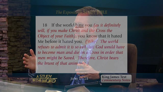 A Study in the Word - Jan. 6th, 2020