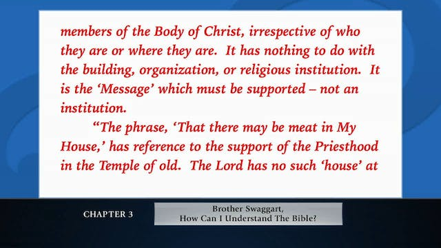 The Message Of The Cross - Feb. 14th,...