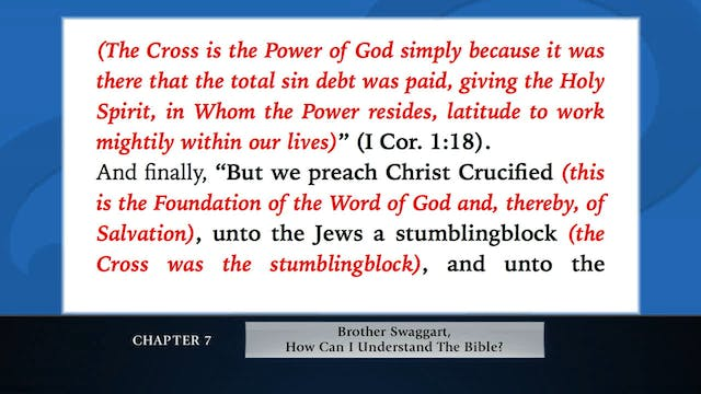 The Message Of  The Cross - Jun. 2nd,...