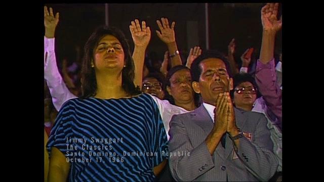SANTO DOMINGO, DOMINICAN REPUBLIC 10/17/1986 FRIDAY CRUSADE