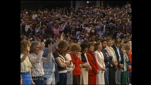 CHICAGO ILLINOIS - 10/08/1982 FRIDAY CRUSADE