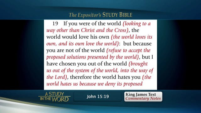 A Study in the Word - Jan. 9th, 2020