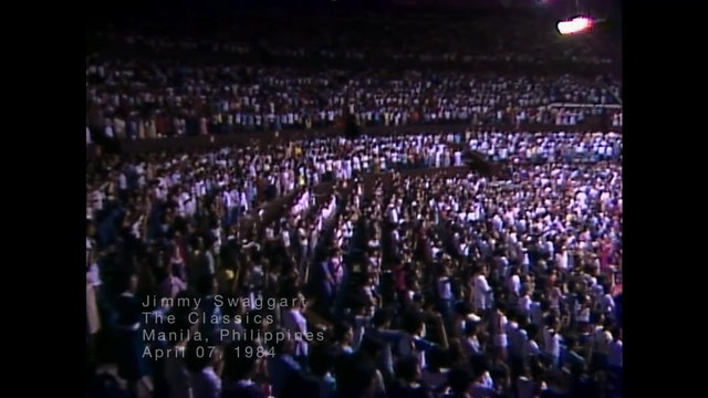 MANILLA PHILIPINES - 04/07/1984 SATURDAY CRUSADE